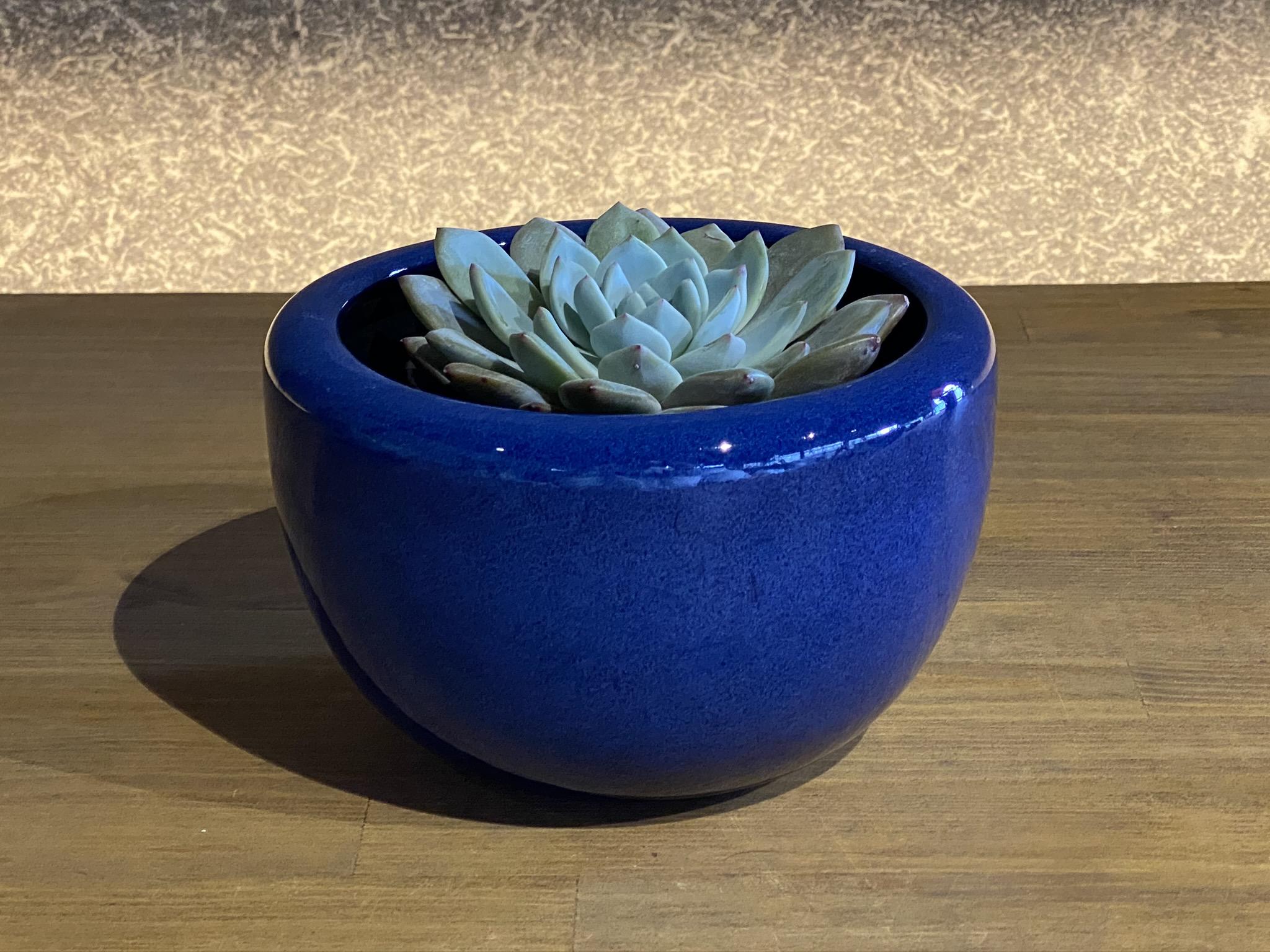 海鼠釉ミニ火鉢